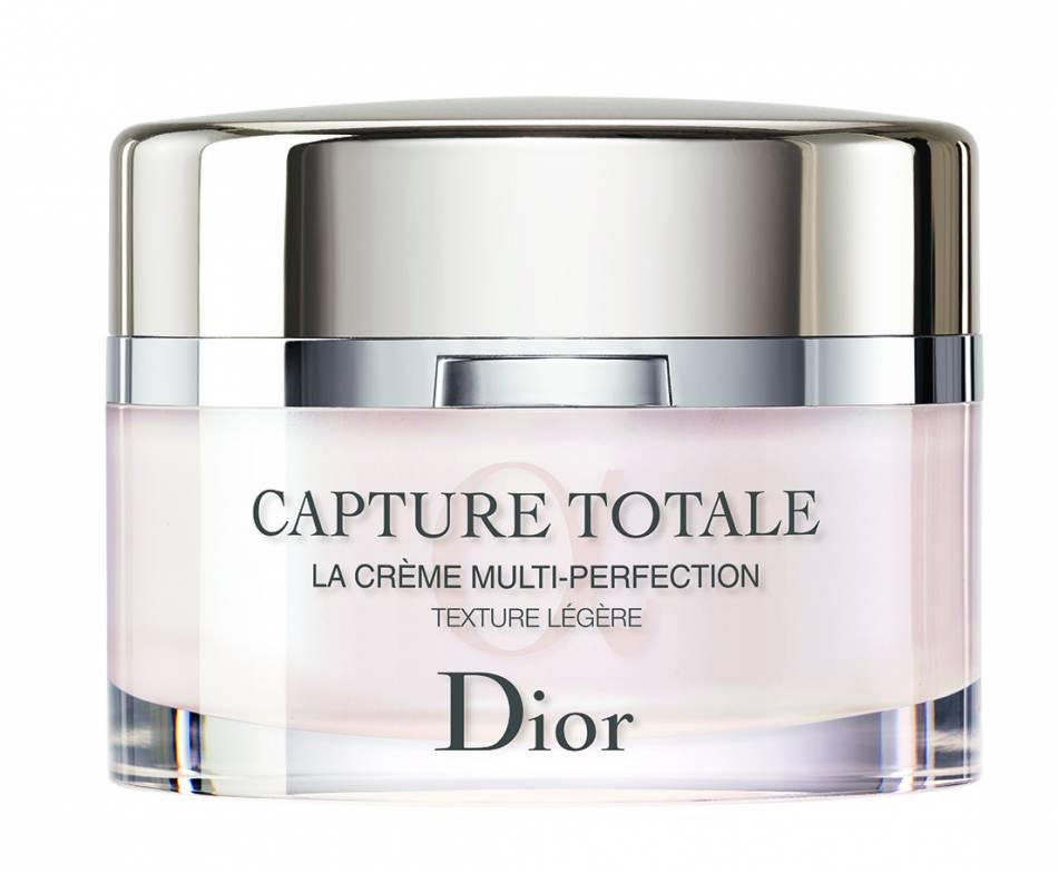 La Crème Multi-Perfection Totale Capture de Dior existe en trois textures : légère, universelle et riche.