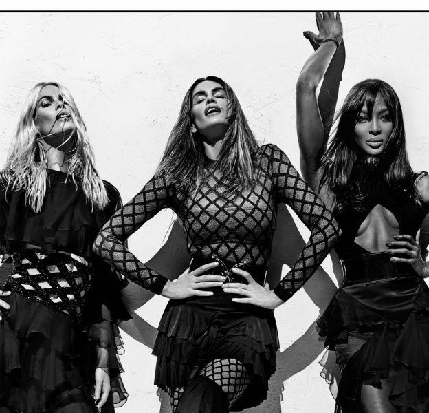Claudia Schiffer, Cindy Crawford et Naomi Campbell sont les égéries de la nouvelle campagne du Printemps-Été 2016 de Balmain.