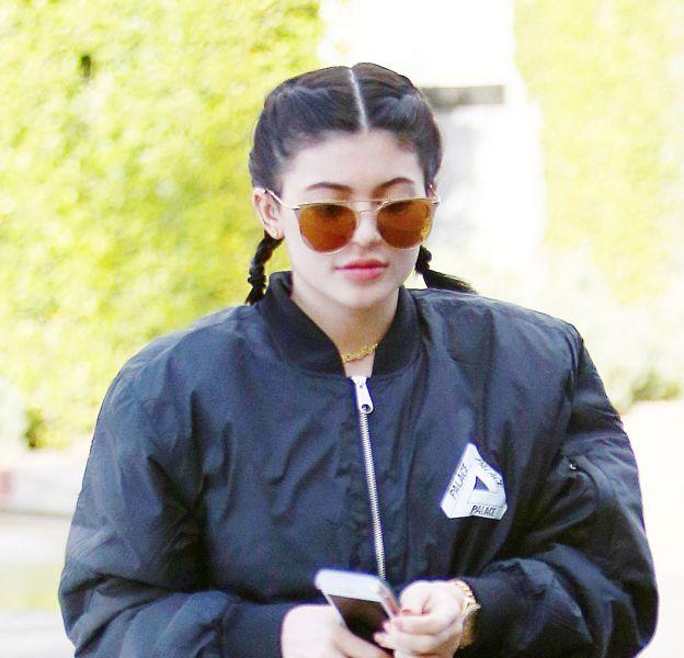Kylie Jenner aperçue dans les rues de Los Angeles.