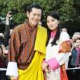 La reine Jetsun Pema et le roi Jigme Khesar Namgyel Wangchuk du Bhoutan attendent leur premier enfant pour l'année 2016.