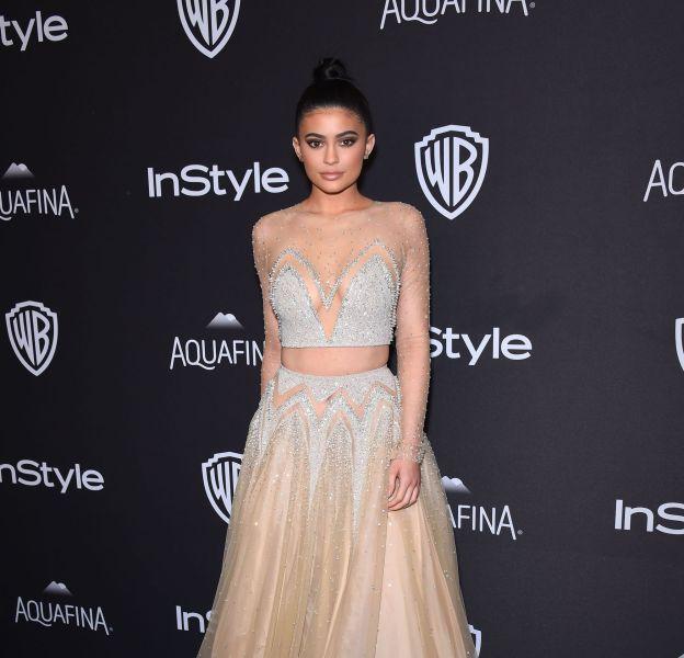 Kylie Jenner, très sexy à l'after party des Golden Globes.