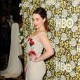 Emilia Clarke à la soirée de la chaîne  HBO , ce dimanche 10 janvier 2016.