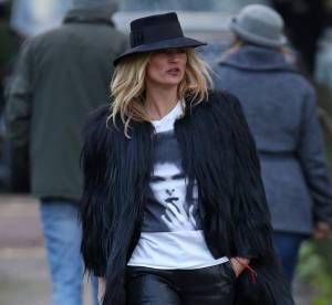 Kate Moss : son look hommage à David Bowie... À shopper !