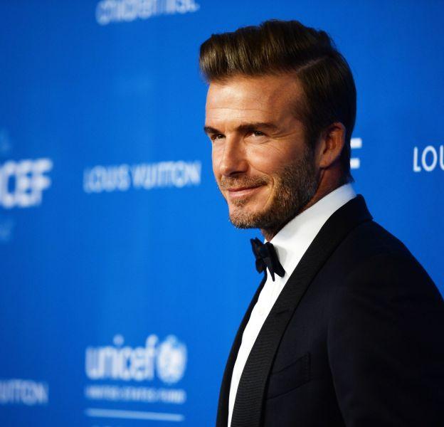 David Beckham lors du 6ème UNICEF Ball le 1 janvier 2016 à Los Angeles.