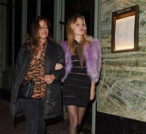 Georgia May aux côtés de sa grande soeur, Jade Jagger 44 ans.