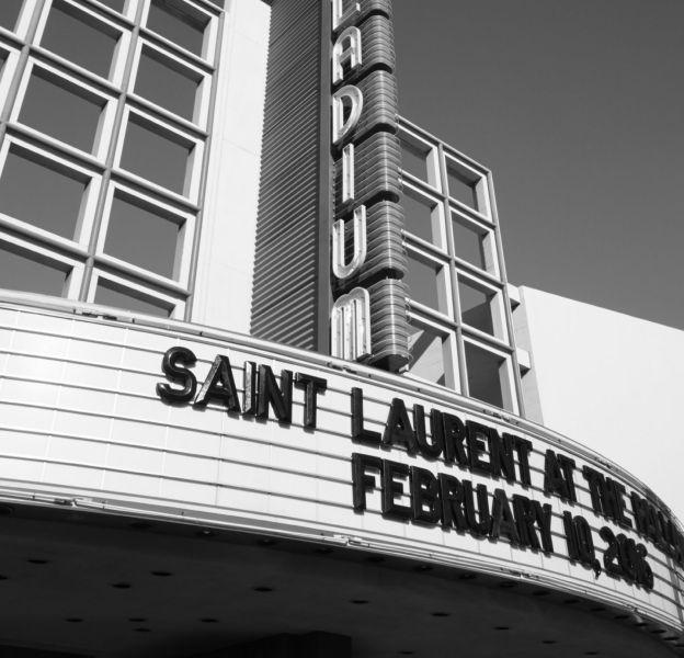 Saint Laurent va présenter sa prochaine collection au Palladium à Hollywood.