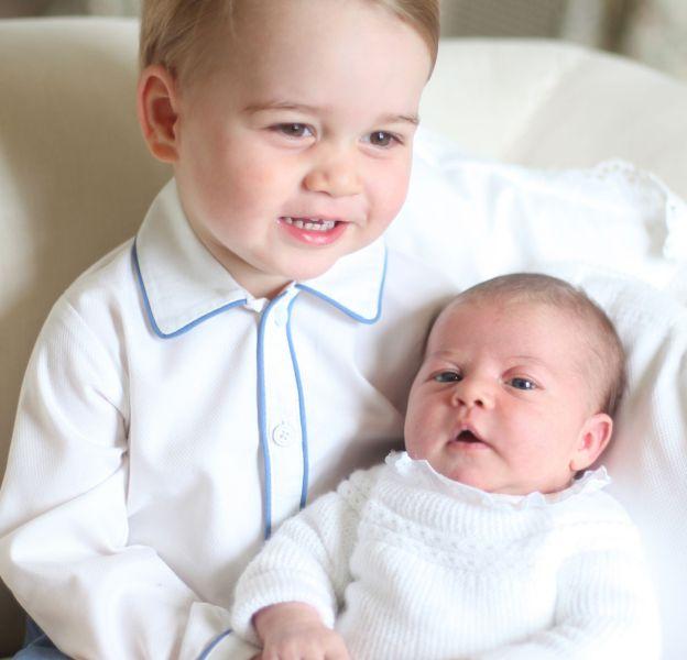 George et Charlotte, des enfants déjà bien gâtés !