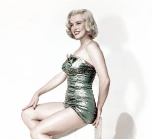 Marilyn Monroe, la beauté ronde par excellence.