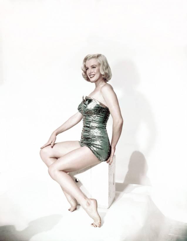 Marilyn Monroe, la beauté ronde par excellence.