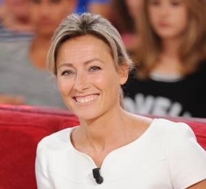 """Anne-Sophie Lapix : embarrassée par le cadeau """"olé olé"""" de Dita von Teese"""