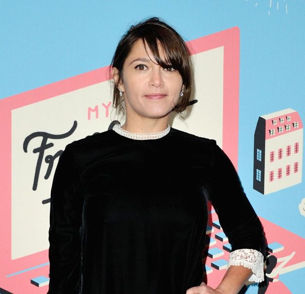 Emma de Caunes, ravissante au lancement de My French Film Festival, le 17 janvier 2016 à Paris.