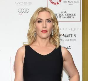 """Kate Winslet : éblouissante sur le red carpet, dans un look """"All Black"""""""