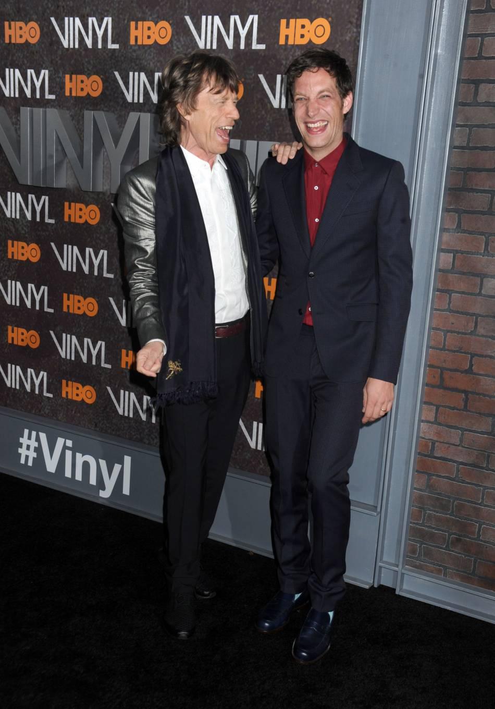Mick et James Jagger.