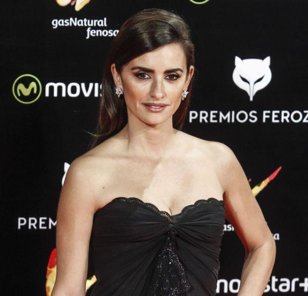 Penélope Cruz, superbe mardi 19 janvier lors de la cérémonie des Feroz Awards, à Madrid.