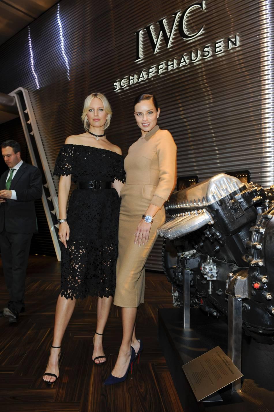 Karolina Kurkova et Adriana Lima deux bombes au SIHH.