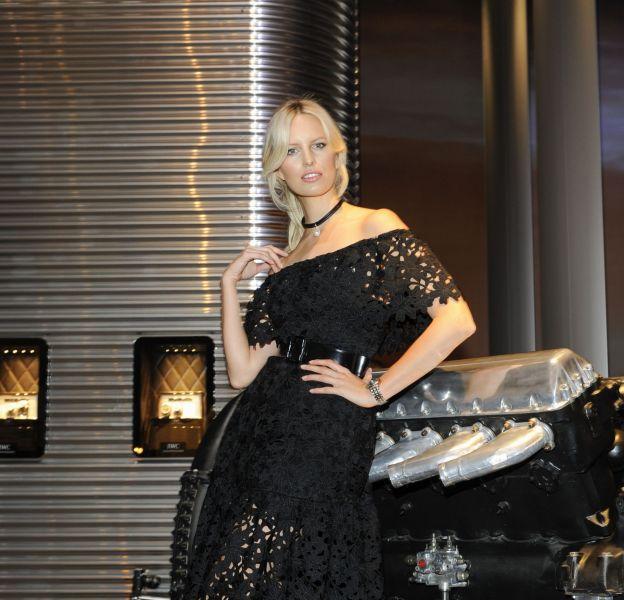 Karolina Kurkova au dîner IWC au SIHH 2016.