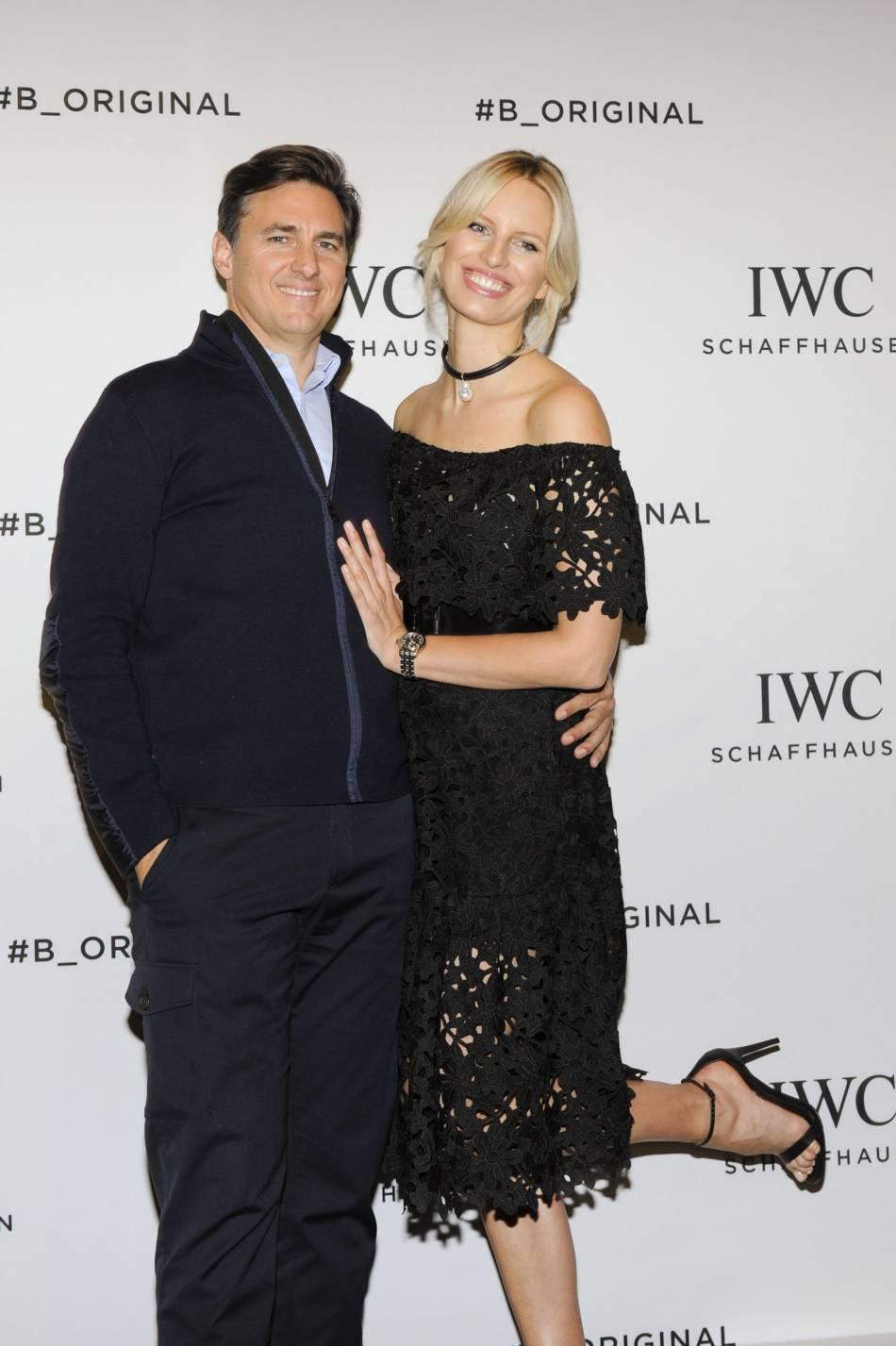 Karolina Kurkova et son époux Archie Drury.