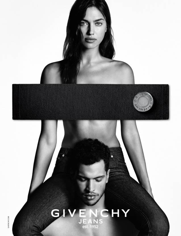 Irina Shayk, plus sublime que jamais pour Givenchy Jeans.