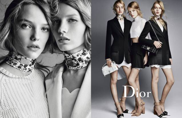 Dior présente sa nouvelle collection printemps-été 2016.