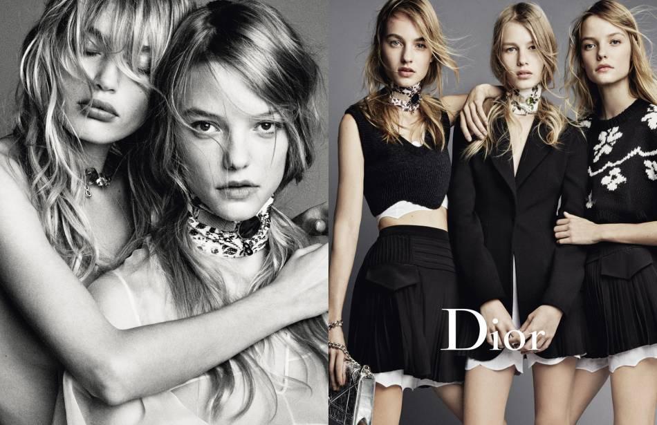 Dior mis en scène par le célèbre photographe Patrick Demarchelier.