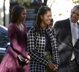 Malia Obama ne compte plus les fois où ses parents l'ont embarrassée.