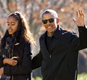 Barack Obama ce chouineur, sa fille Malia a déjà honte...