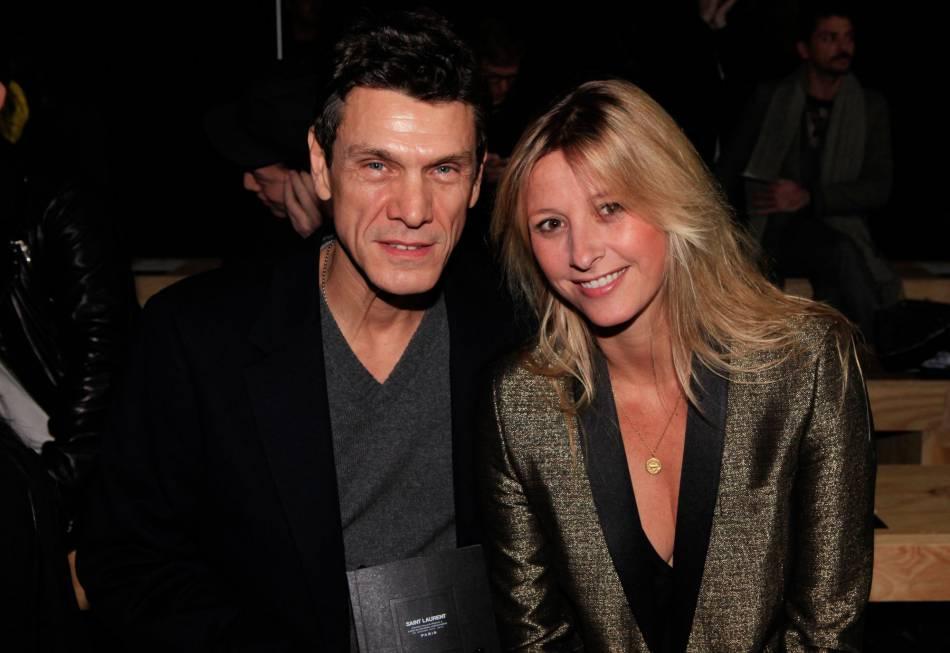 Marc et Sarah Lavoine, mariés depuis vingt ans.