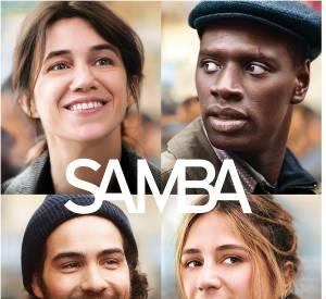 """Omar Sy est à l'affiche de """"Samba"""" aux côtés de Charlotte Gainsbourg et Tahar Rahim."""