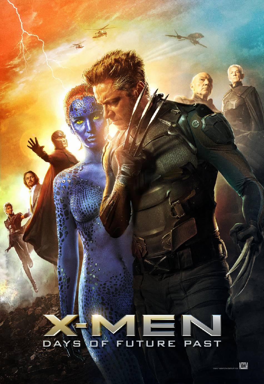 "Omar Sy incarne le mutant Bishop dans ""X-Men : Days of Future Past""."