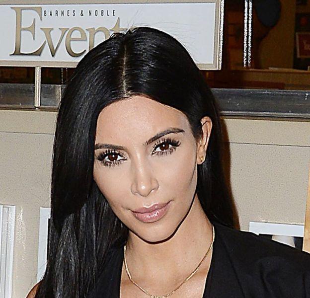 "Kim Kardashian à la présentation de ""Selfish"", son livre de selfies, en mai 2015."