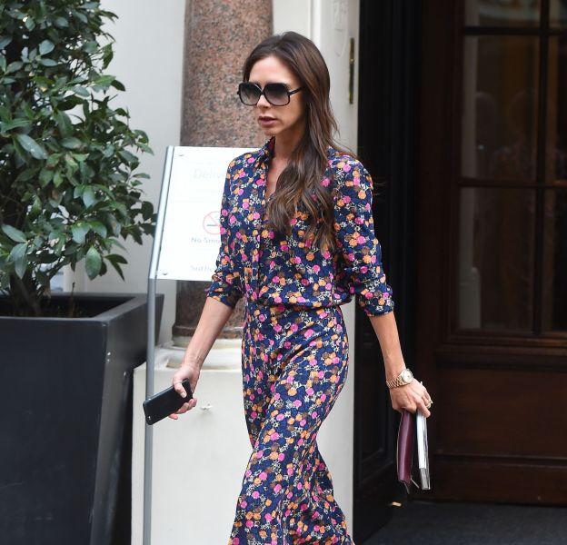 Victoria Beckham, sexy dans sa robe bon chic bon genre.
