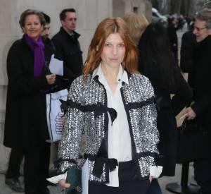 Clémence Poésy au défilé Chanel Haute Couture Printemps-Été 2016.