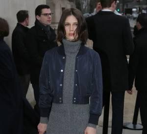 Marine Vacth au défilé Chanel Haute Couture Printemps-Été 2016.