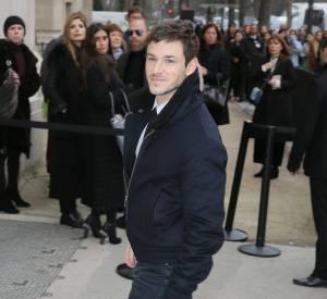 Gaspard Ulliel au défilé Chanel Haute Couture Printemps-Été 2016.