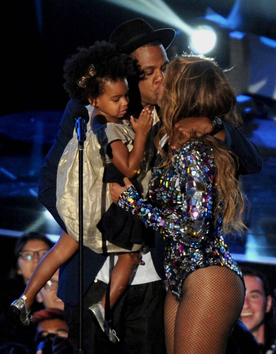 Beyoncé et Jay-Z, des parents déjà comblés par leur petite Ivy Blue, quatre ans.