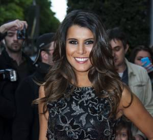 Karine Ferri se montre très charmante aux côtés de la star internationale.