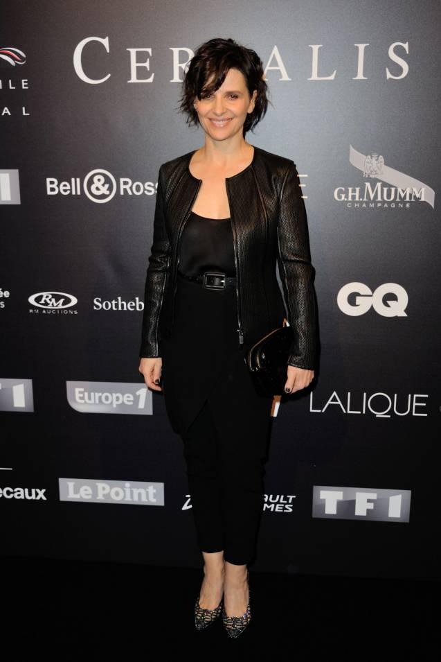 Juliette Binoche au 31ème Festival automobile international à Paris ce mardi 26 janvier 2016.