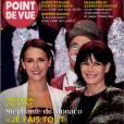 Retrouvez intégrabilité de l'interview de la princesse Stéphanie de Monaco dans le dernier numéro de  Point de Vue , actuellement dans les kiosques.