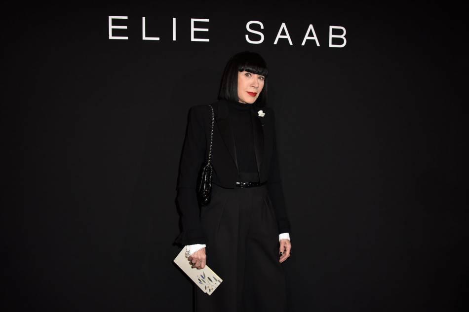 Chantal Thomassau défilé Haute Couture Printemps-Été 2016Elie Saab.