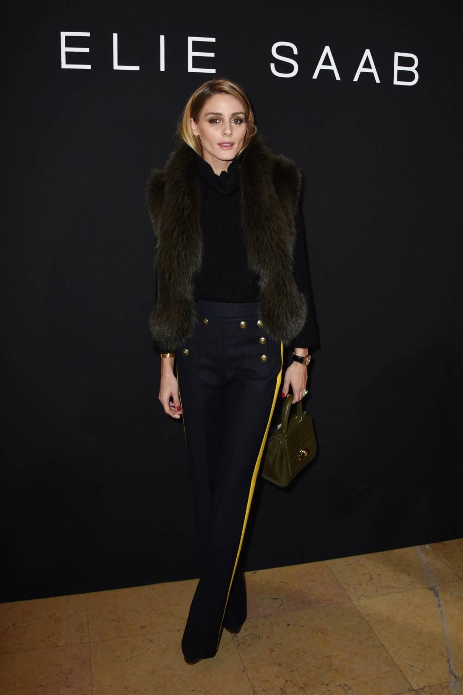 Olivia Palermoau défilé Haute Couture Printemps-Été 2016Elie Saab.