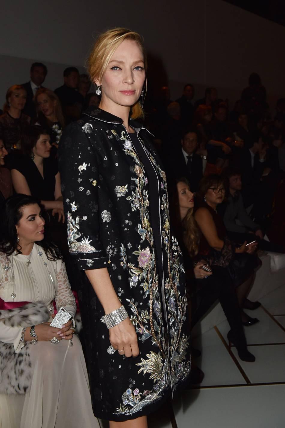 Uma Thurmanau défilé Haute Couture Printemps-Été 2016Guo Pei.