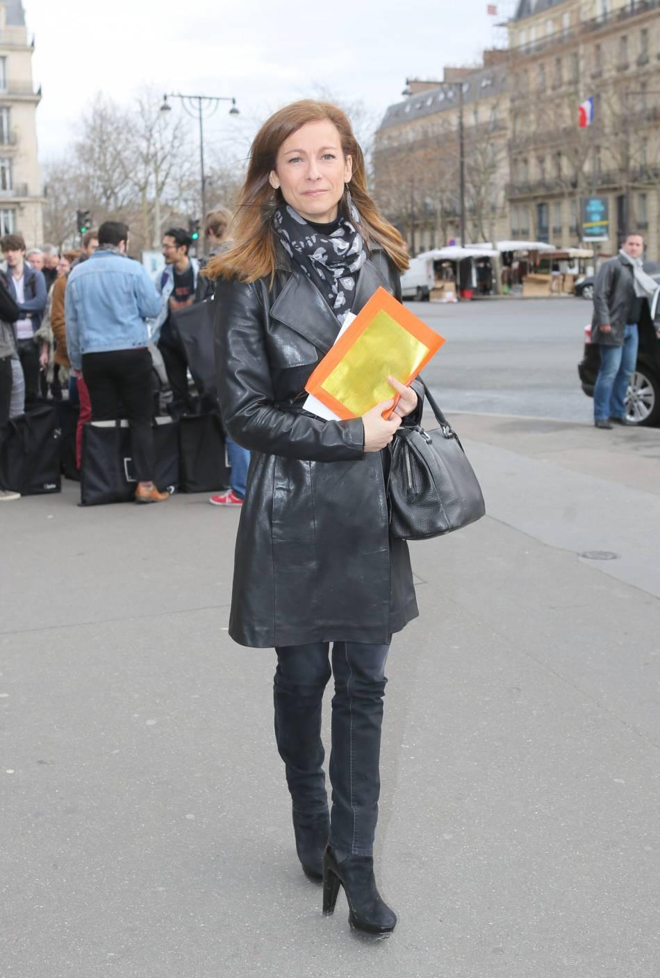 Anne Gravoinau défilé Haute Couture Printemps-Été 2016Franck Sorbier.