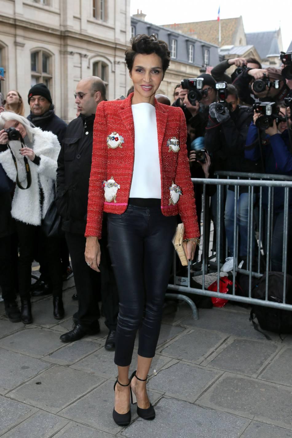 Farida Khelfaau défilé Haute Couture Printemps-Été 2016Jean Paul Gaultier.