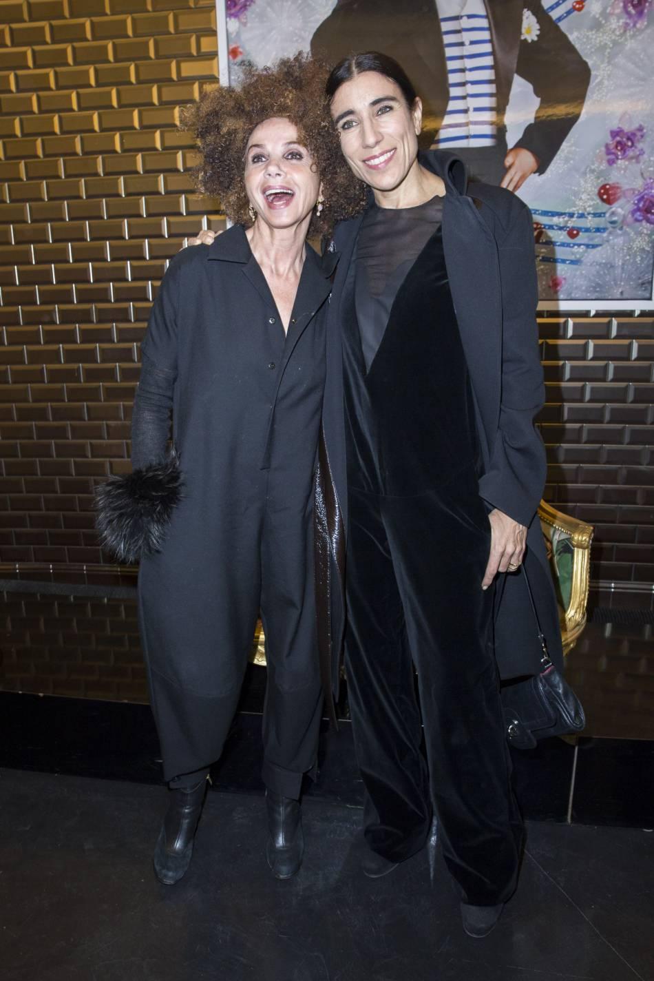 Blanca Li et Victoria Abrilau défilé Haute Couture Printemps-Été 2016Jean Paul Gaultier.