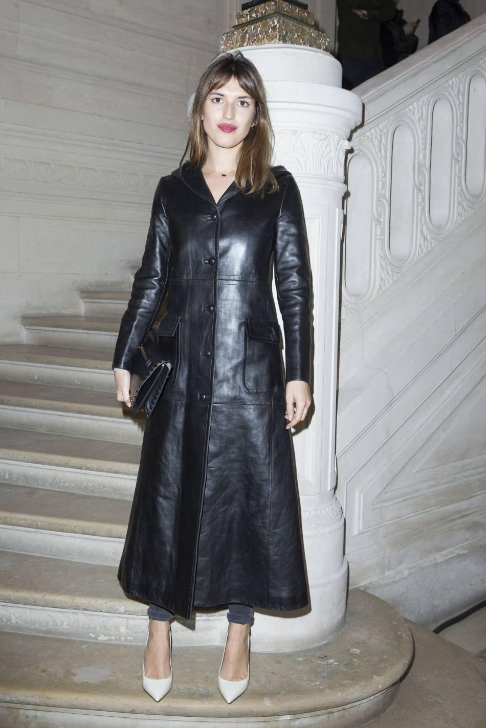 Jeanne Damasau défilé Haute Couture Printemps-Été 2016Valentino.