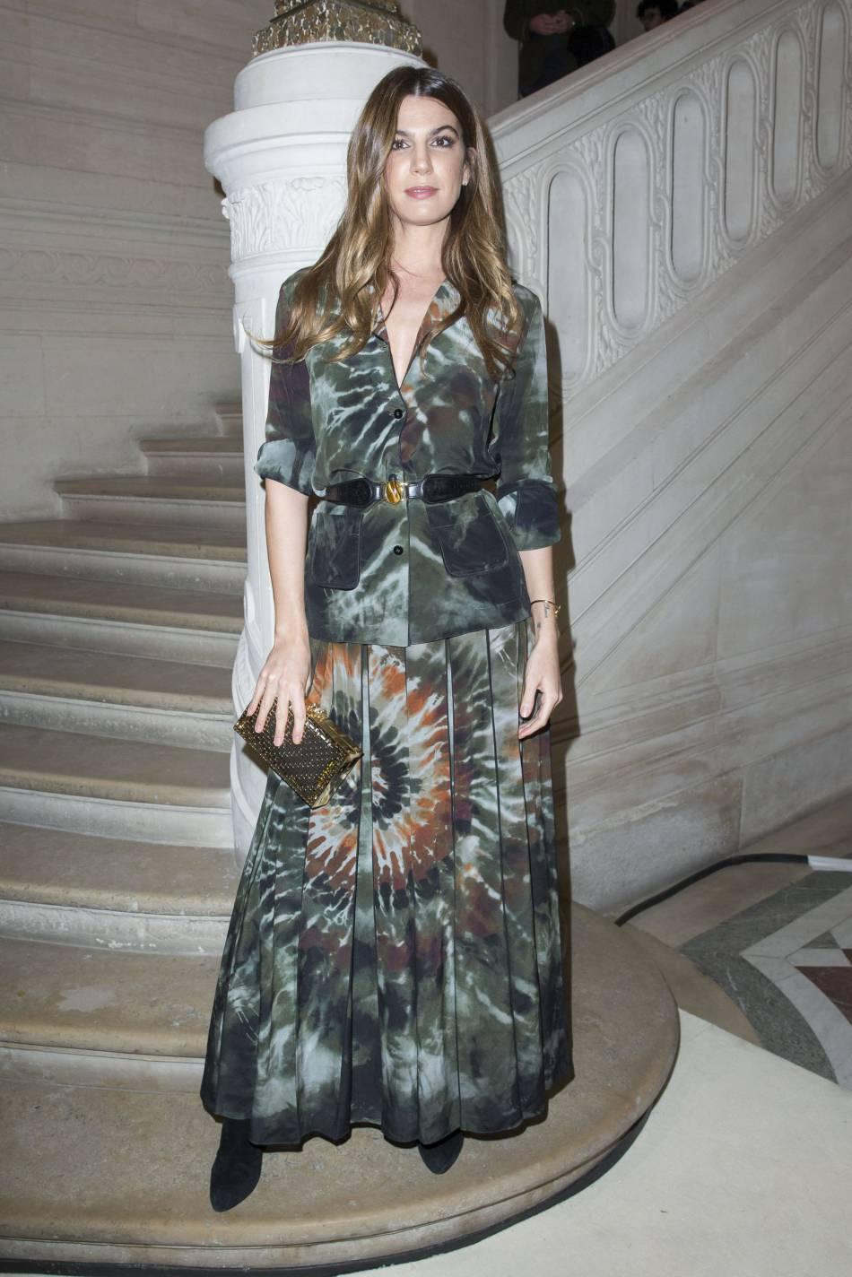 Bianca Brandolini d'Addaau défilé Haute Couture Printemps-Été 2016Valentino.