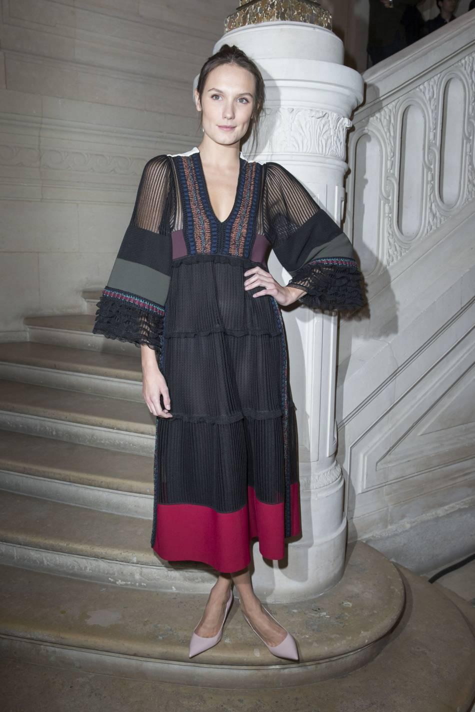 Ana Girardotau défilé Haute Couture Printemps-Été 2016Valentino.