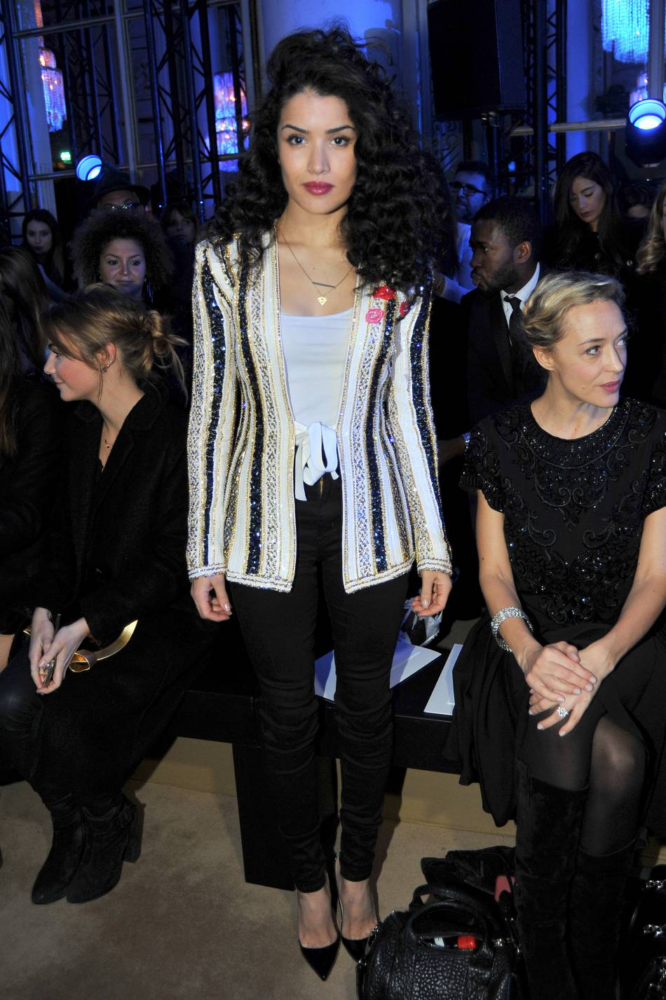 Sabrina Ouazaniau défilé Haute Couture Printemps-Été 2016Zuhair Murad.