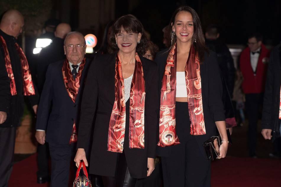 Pauline Ducruet et sa mère, Stéphanie de Monaco.