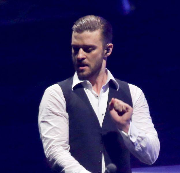 Le chanteur Justin Timberlake